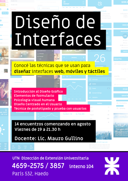 afiche interfaces